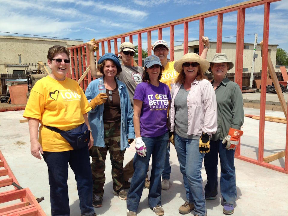 Habitat for Humanity, July 2014